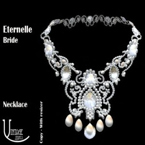 CI Eternelle Bride Necklace poster