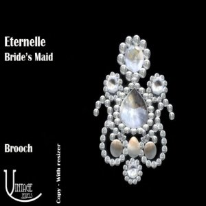 CI Eternelle Bride's Maid Brooch poster